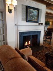 Mountain View Grand Fireplace