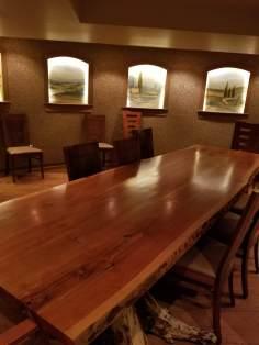 Mountain View Grand Wine Cellar Table