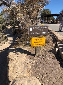 sign-bright-angel-path-grand-canyon