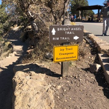 sign-bright-angel-path-grand-canyon